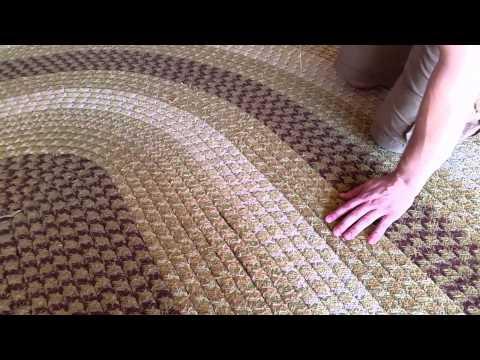 How to Sew a Braided Rug | Brighton Rug Cleaning | Brighton Rug Repair