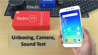 Redmi Y1 Unboxing + Camera Samples + Sound Test