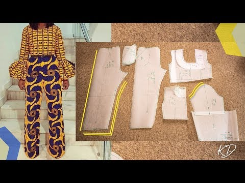 JUMPSUIT PATTERN TUTORIAL | KIM DAVE