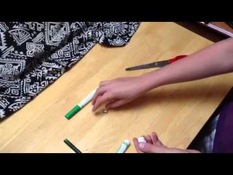 How to make a marker shank