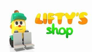 #Zeichentrickfilm LIFTYS LADEN🚜Wir machen einen Obstsalat 🍉Die besten Zeichentrickfilme für Kinder