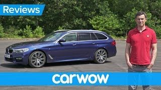 BMW 5 Series Touring 2018 in-depth review | Mat Watson Reviews