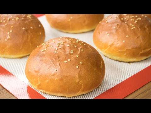 Burger Buns Recipe | Best Eggless Hamburger Buns | Super Soft Bakery Style Breads