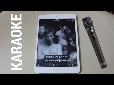 Turn Your iPhone, iPad or Android Device into a Karaoke Machine for Free!