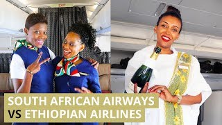 South African Airways vs Ethiopian Airlines - Which one is BETTER?