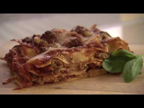 Traditional Italian Lasagna Recipe with Veal & Pork Mince Meatballs