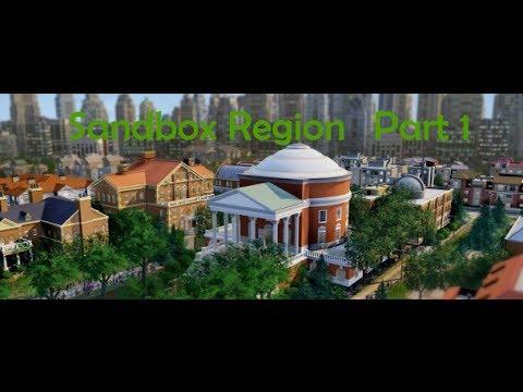 SimCity: Sandbox Region (Part 1)