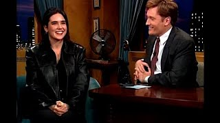 "Jennifer Connelly Went Trekking Through Tibet - ""Late Night With Conan O'Brien"""