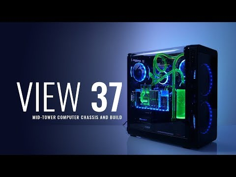 Thermaltake View 37 Mid-Tower Computer Chassis and Build
