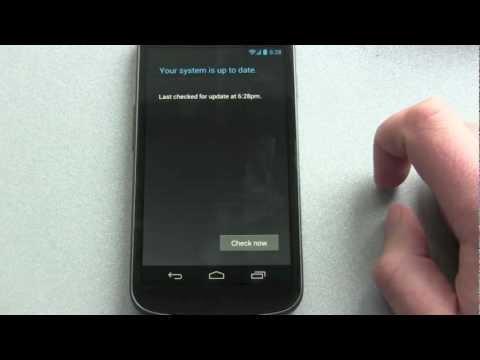How to get the 4.1.1 Jelly Bean OTA Update - Galaxy Nexus