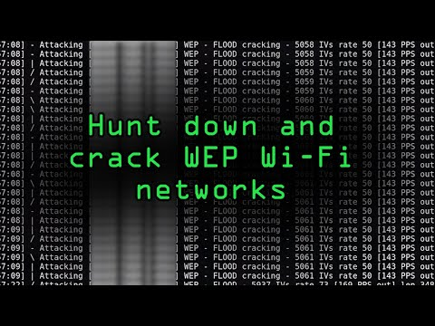 How to Hunt Down & Crack WEP Wi-Fi Networks