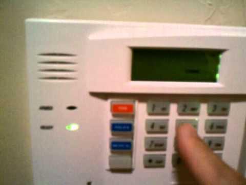 Change master code on Honeywell alarm system