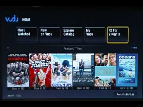 VUDU Movie Service on PS3