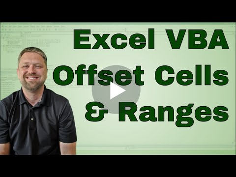 Excel VBA Offset - Example Code Included