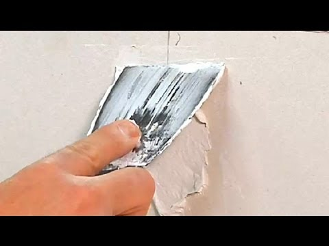 How to Repair Cracks in Drywall Due to Expanding Joints : Drywall Repair & Maintenance