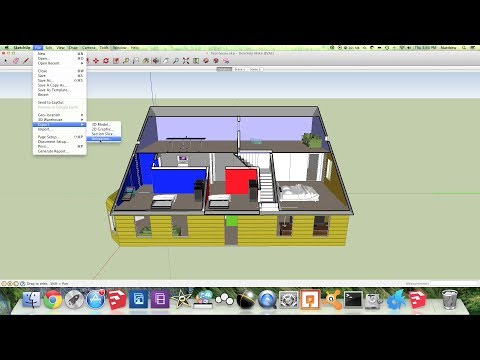 Create SketchUp Animation (With Section Planes)