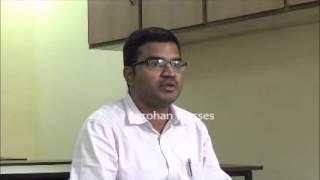 Aarohan Classes- OAS 2011 Mock Interview- Rank 8 Siddharth Sankar Sahu