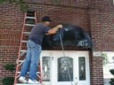 Cleaning Awnings with LOW Pressure Fort Worth TX
