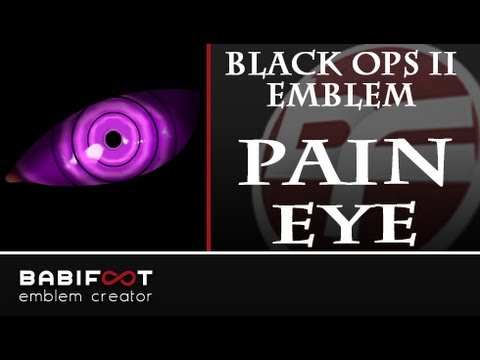 COD Black Ops 2 Emblem Tutorial - Pain/Nagato Eye Rinnegan