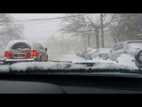BEST AWD...Subaru Crosstrek AWD vs Blizzard Snow Storm 2017