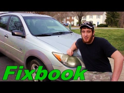 How to Check Transmission Fluid Toyota Matrix, Pontiac Vibe