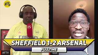 Sheffield Utd 1-2 Arsenal | We Needed Air Jordan In Defence! (Tade)
