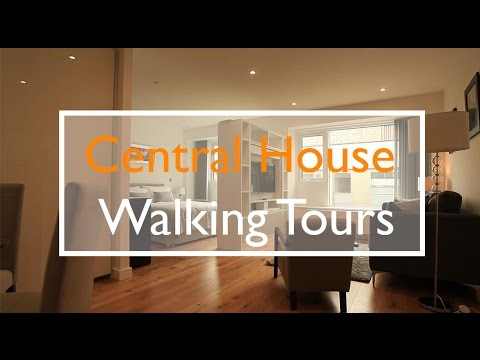 Walking tours of Central House. Studio and one bed apartments. London. TW3