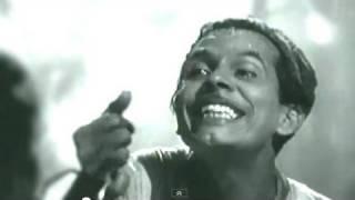 Sar Jo Tera Chakraye Johnny Walker, Mohammed Rafi, Pyaasa Song