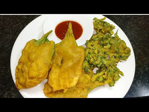 Palak ke Kurkure pakode | ek dum crunchy Palak bhajiya, bhajji | crispy spinach fritters