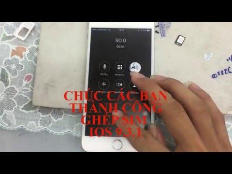 HOW TO UNLOCK IPHONE 6 PLUS IOS 9.3.1  AU KDDI JAPAN - HƯỚNG  DẪN GHÉP SIM LOCK NHẬT AU 9.3.1