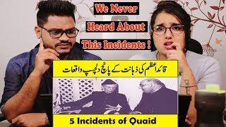 Indian Reaction On 5 Interesting Story of Quaid E Azam Muhammad Ali Jinnah In Urdu Hindi