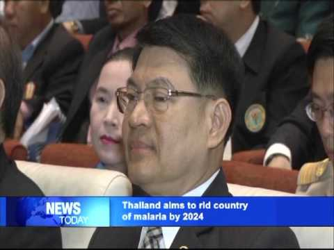 Thailand aims to rid country of malaria by 2024