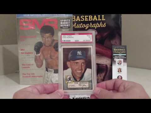 PSA Submission Baseball Card Results
