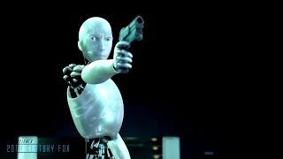 I,Robot |2004| All Fight/Battle Scenes [Edited]