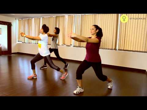 How To Do LUNGES WORKOUT