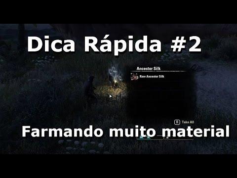 Dica rápida #2 - Como farmar muito material [PC] - The Elder Scrolls Online