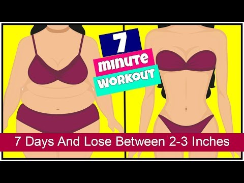 7 Days Challenge   7 Exercises To Lose Belly Fat   7 Minutes Workout to Lose Inches