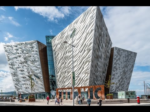 Places to see in ( Belfast - UK ) Titanic Belfast