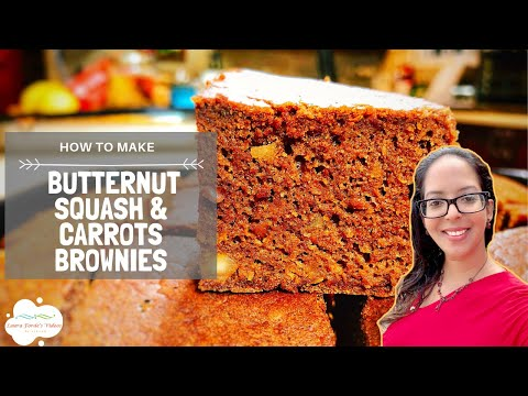 How To Make Butternut Squash & Carrots Brownies