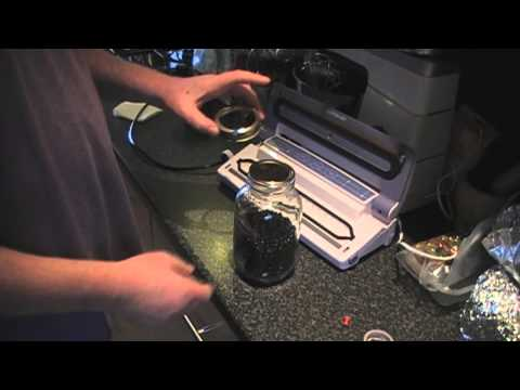DIY How to Vacuum seal shop bought jars at home save pounds.