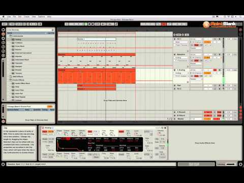 Subtractive Synthesis in Ableton Live - Chicago Bass