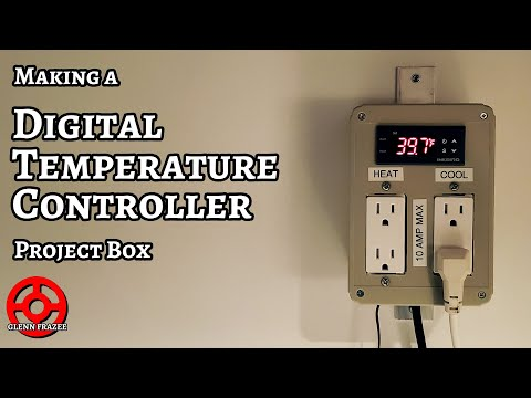 [Home Brewing] Making a Digital Temperature Controller Project Box
