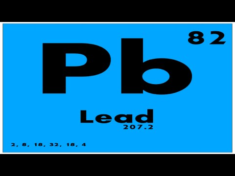 STUDY GUIDE: 82 Lead | Periodic Table of Elements