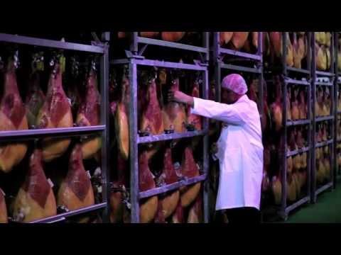 Production process of Spanish Serrano ham