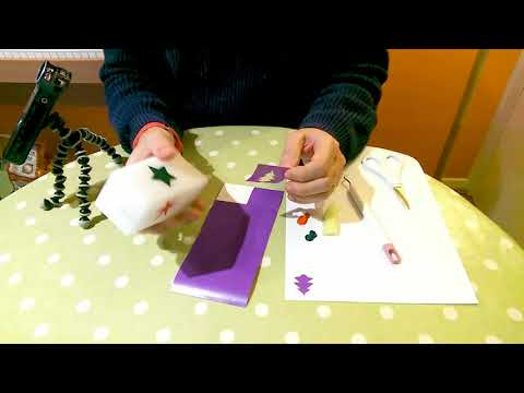 Decorating Candles with Flexible Stencils