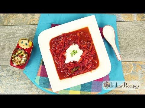 Russian Vegetarian Borscht Soup
