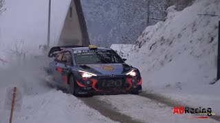 WRC Rallye Monte Carlo 2018 | Best of Action & Show | ADRacing