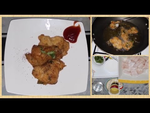 Fried Fish Fillet - With Rice Flour