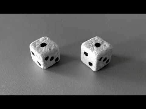 DIY Dice | How to Recycle Paper into Solid Dice Using a Knife