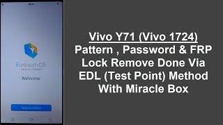 vivo y71 hard reset vivo 1724 pattern unlock Videos - 9tube tv